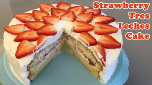 strawberry tres leches cake cheeky crumbs youtube