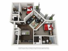 two bedroom two bath floor plans floor plans crimson a student apartment community in tuscaloosa