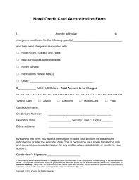 generic credit card authorization form best u0026 professional templates