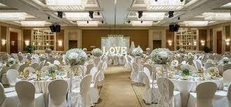conrad centennial singapore hotel wedding love theme with aisle