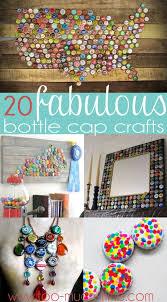 25 unique bottle top crafts ideas on bottle cap