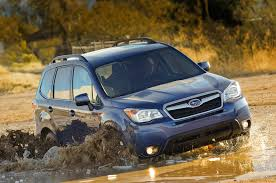 subaru forester xt off road 2014 subaru forester 2 5i premium manual first test motor trend