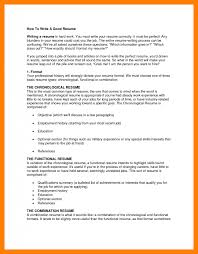 Steps To Writing A Good Resume How To Write A Excellent Resume Executive Bw Test Manager Cv