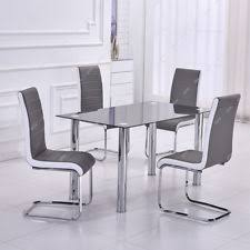 Small Glass Dining Table And 4 Chairs Chair Cool Round Glass Dining Table With Chairs Mezek Oqczzq Rud