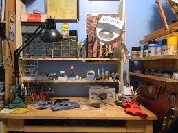 Model Building Desk Building Models