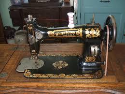 White Sewing Machine Cabinet by White Rotary Sewing Machine