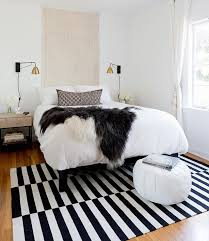 Moroccan Mystique Feature Wall Contemporary Bedroom by Black U0026 White Is Just Right For This La Bedroom Design By