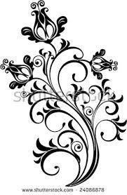 floral ornament vector stock vector 24086878