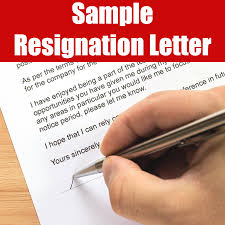 Sample Of Resignation Letters From Jobs Resignation Letter Sample Android Apps On Google Play