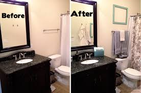 ideas for a small bathroom makeover small bathroom makeover on a budget
