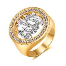 muslim wedding ring allah jewelry islamic rings for men luxury cubic zirconia gold