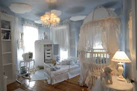 baby princess nursery ideas gray color matching tie back