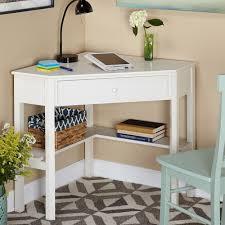 corner desks for small spaces white corner desks for small spaces saomc co