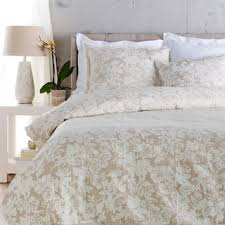 Devon Duvets Croscill Devon Embroidered Floral Cotton Duvet Cover Free