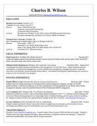 example of accounting internship resume best resumes curiculum