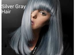 top over the counter hair color granny hair silver slate gray make over youtube