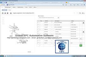 global epc automotive software volvo impact 2016 bus and truck