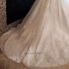 chic country style wedding dresses lace ball gown plus size bride
