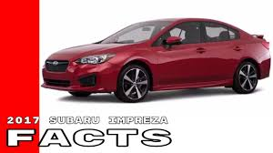 2017 subaru impreza sedan sport 2017 subaru impreza 2 0i sport limited premium facts youtube