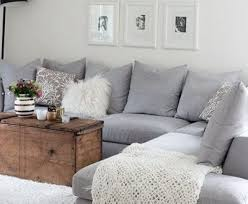 Grey Sectional Sofa Enthralling Grey Sectional With Light Blue Walls Bradley Not A Fan