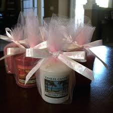 candle party favors yankee wedding candle favors personalized wedding votive candle