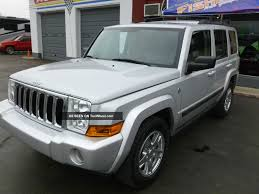 jeep commander 2007 silver image 229