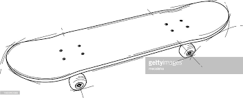 skateboard vector art getty images