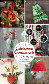 unique handmade christmas ornaments 15 diy christmas ornament tutorials gun ramblings