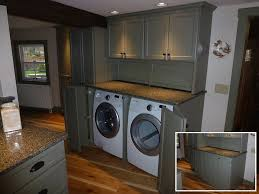 washer and dryer cabinets washer dryer kitchen cabinets country builders carpentry homes