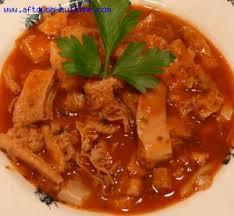 cuisiner les tripes tripettes corses du nebbio 2 kg de tripes 1 pied de veau 400 g