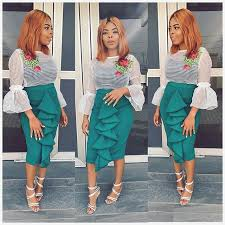 skirt and blouse check out this beautiful skirt and blouse aso ebi styles 2018