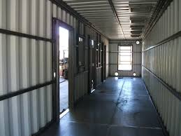 insulation interior finishing container technology inc