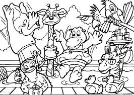 coloring book pages farm animals pdf large size ocean