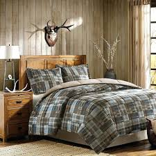 Plaid Bed Set Plaid Comforter Set Williamsport Flannel
