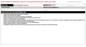 market research analyst jobs market research analyst description 7 project 5 market market