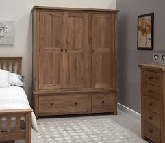 modest large wardrobe closets from brown unfinished wood for grey