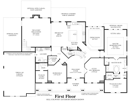 floor plan of monticello fairview tx new homes for sale parkside at fairview