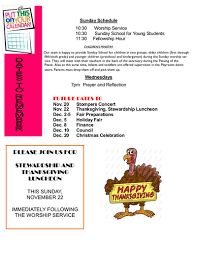 november 2015 newsletter first baptist church in new haven ct