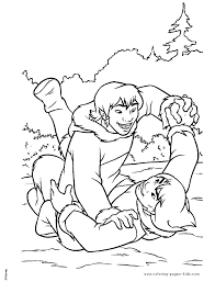 brother bear coloring pages coloring pages kids disney