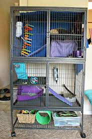 Large Ferret Cage Bunny Blossom Bunny Rabbit Home How To