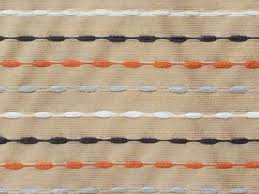 orange and grey lines curtain fabric by the yard upholstery fabric