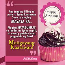 Wedding Quotes Tagalog Happy Birthday Quotes And Heartfelt Birthday Messages Boy Banat