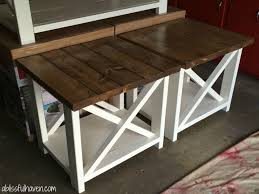 Diy Wood Coffee Table by Best 25 Farm House Coffee Table Diy Ideas On Pinterest