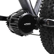 Rad Power Bikes Electric Bike by E Rad 1000w Mid Drive E Bike Conversion Kit 68 120mm E Rad