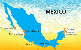 map of mexico resorts all inclusive resorts and vacations in mexico