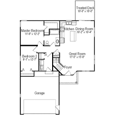 traditional style house plan 2 beds 1 00 baths 1024 sq ft plan