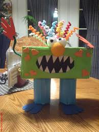 monster box fun idea for halloween treats great valentine box