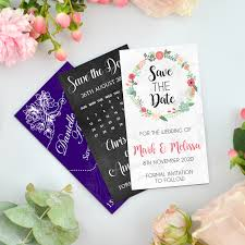Magnetic Save The Dates Save The Dates For Weddings Personalised Favours