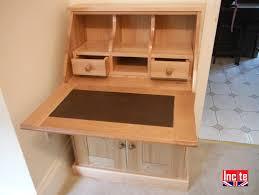 image bureau custom made oak bureau cabinet by incite
