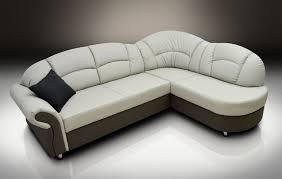 Leather Corner Sofa Bed Leather Corner Sofa Bed Romero Grey Elephant